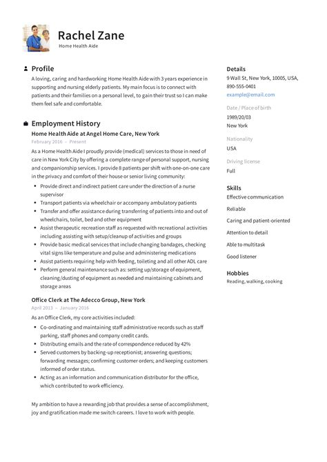 Restaurant Resume Examples Health Care Aide Sample Resume Production Analyst Sample Resume  Resume Stay At Home Mom Word with System Admin Resume Excel Resume Samples Health Care Aide Health Care Aide Cover Letter Best Sample  Resume  Sample Home Free Printable Resume Templates Pdf