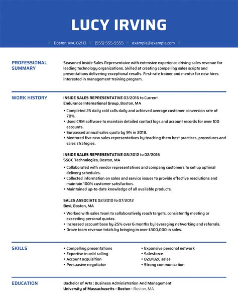 Resume Samples With No Experience Resume Samples