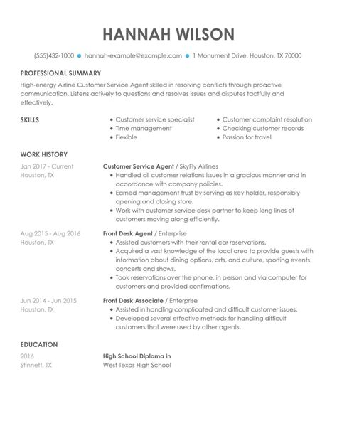 Resume Service Boston Sample Customer Service Resume And Tips