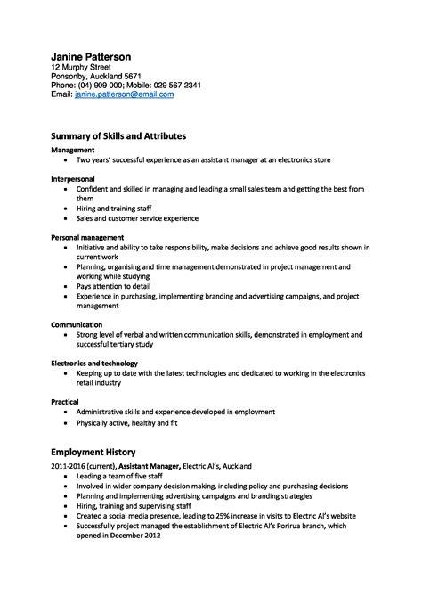 Resume Template Free Nz Resume Template Nz 28 Images Resume Template Nz Free