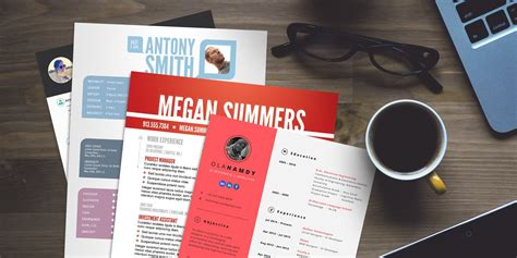 Resume Templates Android 15 Free Creative Resume Templates For Photoshop And