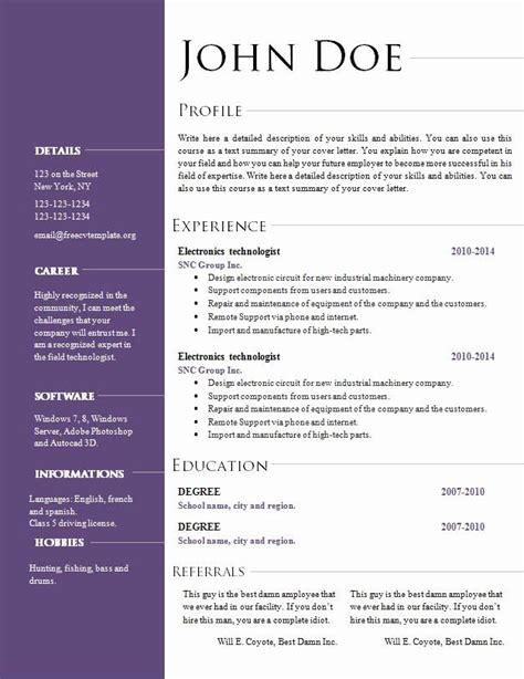 resume templates open office free free open office resume templates free web resources resume templates open