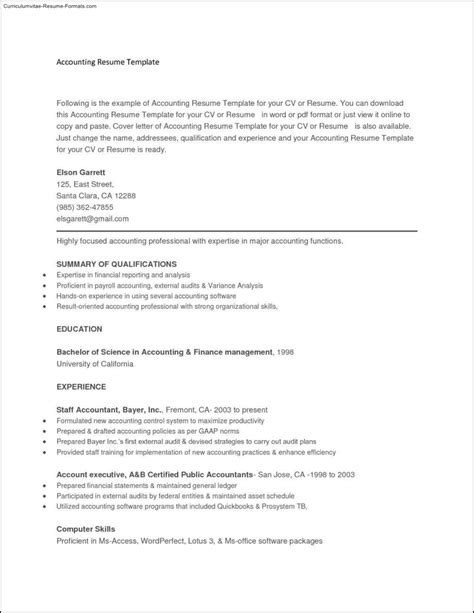 resume templates to copy and paste resume copy and paste templates template
