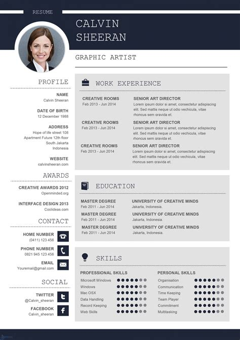 Resume Templates For Mac Resume Templates For Mac Word Apple Pages Instant Download
