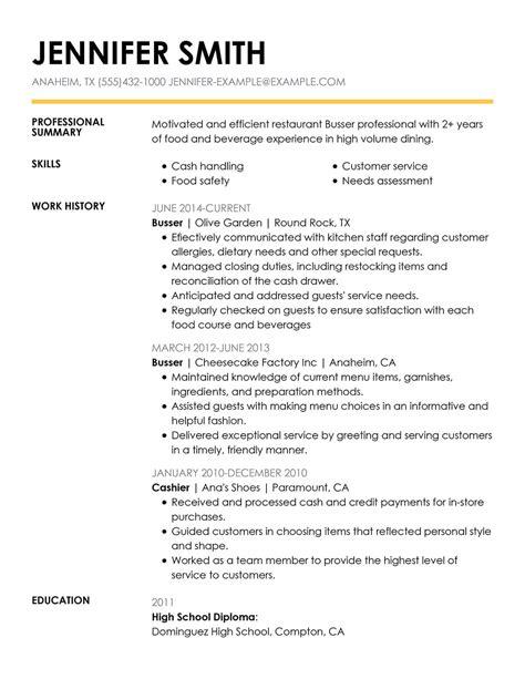 resume templates for restaurant server server resume sample and template monsterca - Sample Resume For Restaurant Server