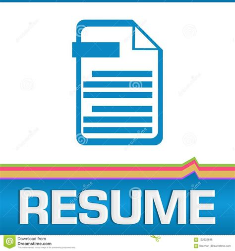 Resume Text Deutsch Resume Icon Stock Images Royalty Free Images Vectors