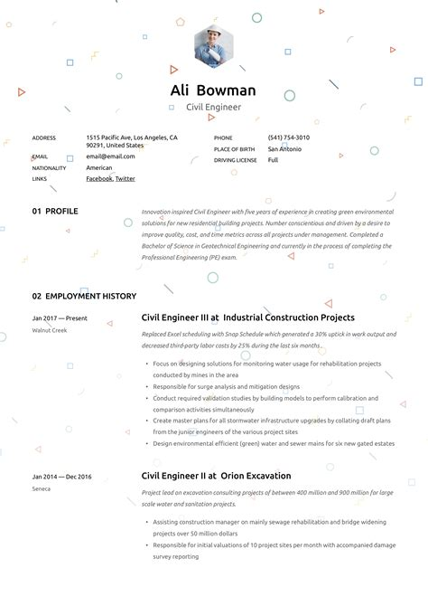 resume title examples for fresher engineer 16 civil engineer resume templates free samples psd