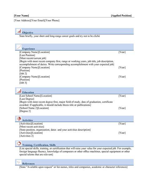 resume wizard free download sample resume template a free html resume template by - Resume Wizard Free Download