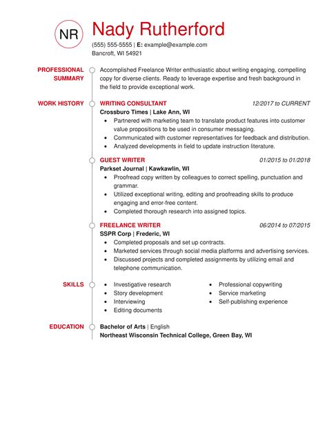 resume writing services minneapolis