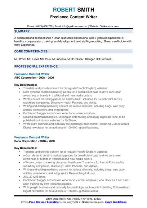 local resume writing services