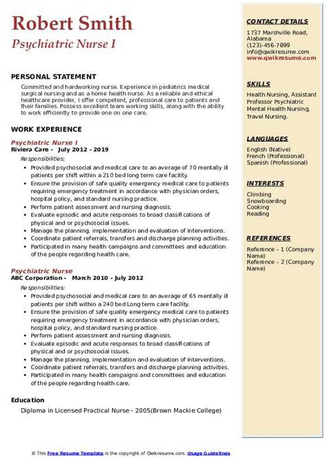 resume writing services indianapolis free psychiatric nurse resume sample