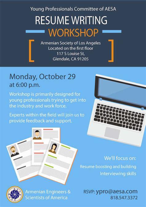 Resume Writing Workshop Resume Writing Workshop Activities