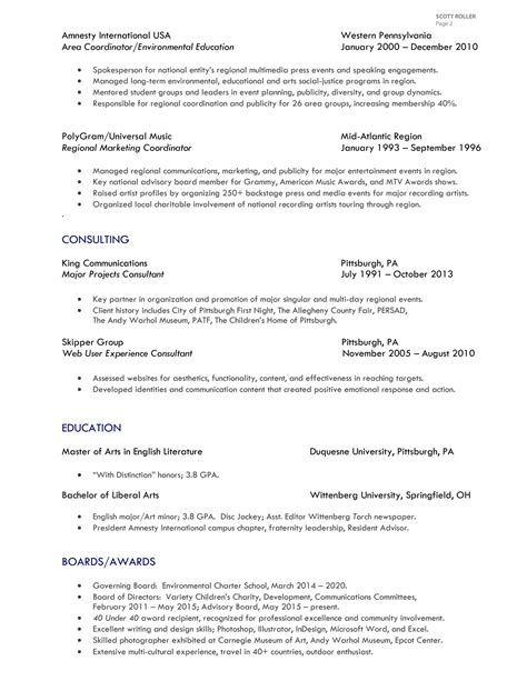 length of resume