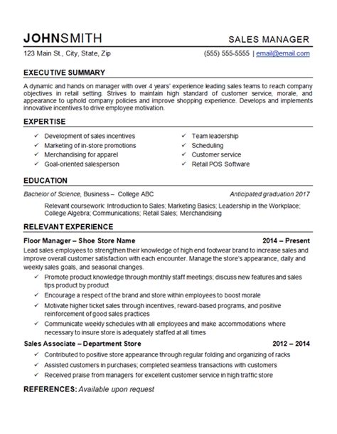 retail management resumes examples aroj resume samples free sample resume examples