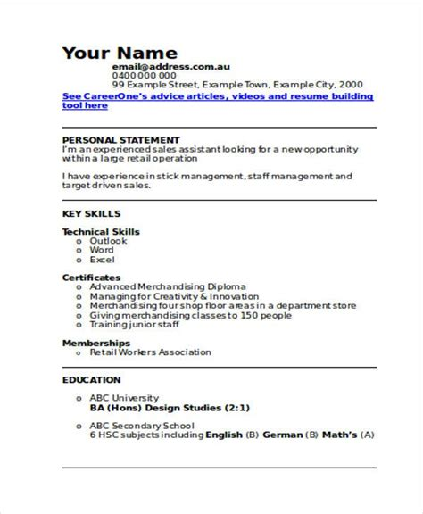 Resume For Volunteer Work Excel Retail Sales Job Responsibilities Resume  Product Manager Resume  Bartender Resume Example Word with Sample Resume For Retail Excel Retail Sales Job Responsibilities Resume Retail Sales Assistant Cv Template  Careeroneau Example Resume Templates