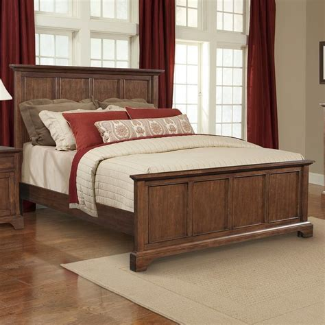 Retreat Cherry Panel Bed byCresent Furniture