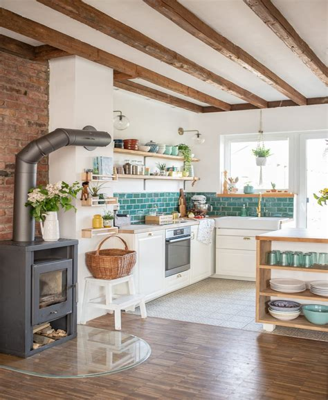 Retro Küche Deko