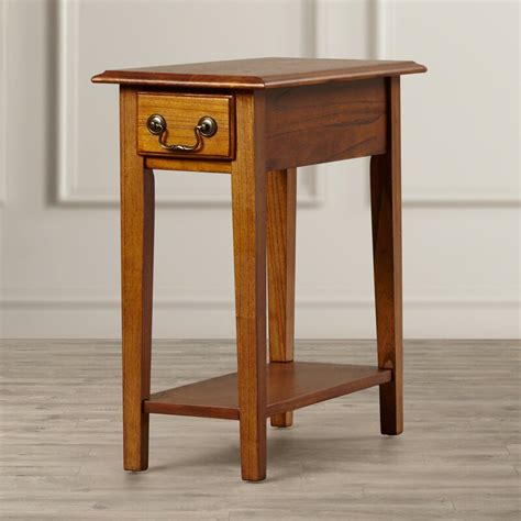 Revere Broomhedge End Table With Storage
