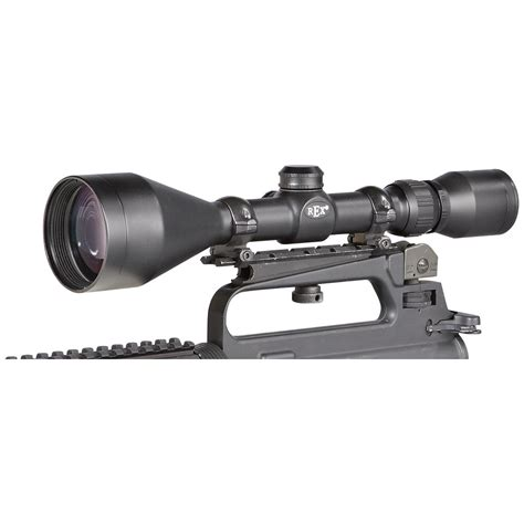 Rifle-Scopes Rex Optics Rifle Scope For Sale.