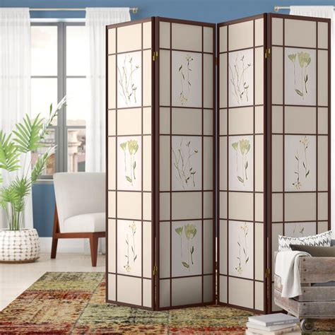 Reyansh 4 Panel Room Divider