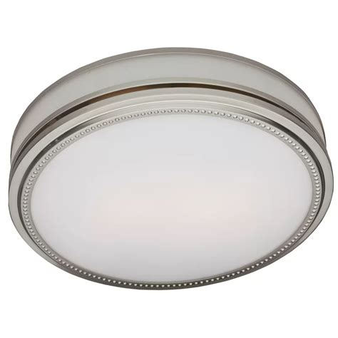 Riazzi 110 CFM Bathroom Fan with Light and Night-light