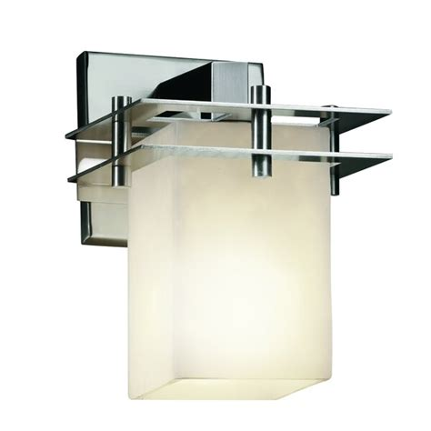 Rieth Square 1-Light Armed Sconce
