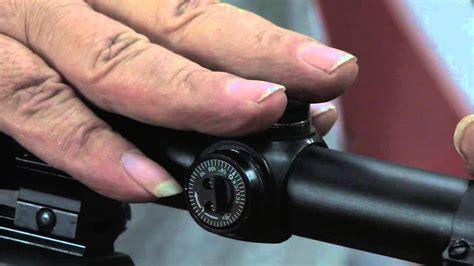 Rifle-Scopes Rifle Scope Adjustment.