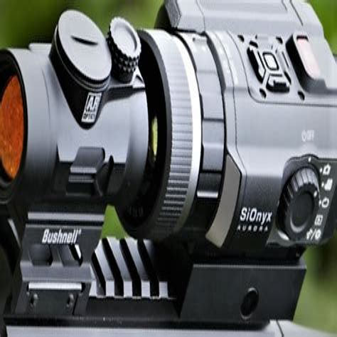Rifle-Scopes Rifle Scope Mounted Video Camera.