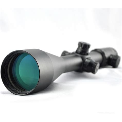 Gun-Shop Rifle Scopes With Wide Field Of View.
