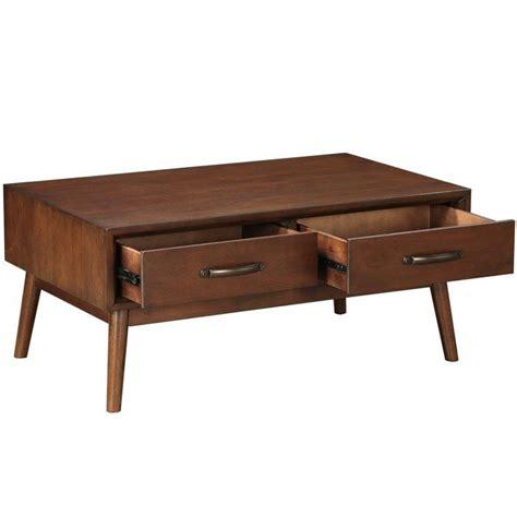 Ripton Mid-Century Modern Coffee Table