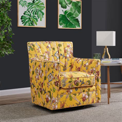 Ro Swivel Arm Chair