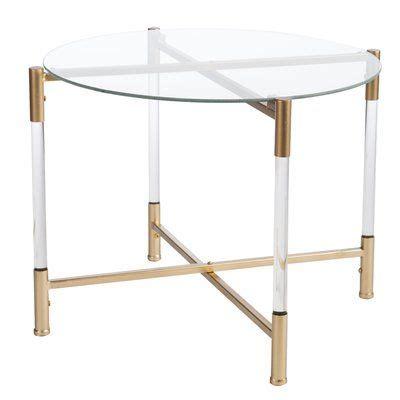 Robson Acrylic End Table