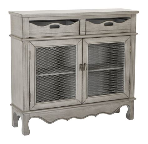Roby Storage 2 Door 2 Drawer Accent Cabinet