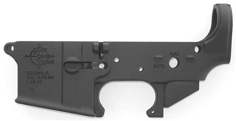 Rock-River-Arms Rock River Arms 9mm Lower Receiver Stripped.