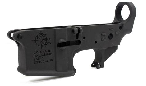Rock-River-Arms Rock River Arms Lar-15 Stripped Lower Receiver.