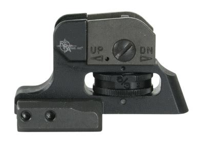 Rock-River-Arms Rock River Arms Stand Alone Rear Sight Review.