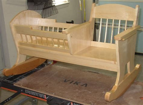 Rocking Cradle Plans