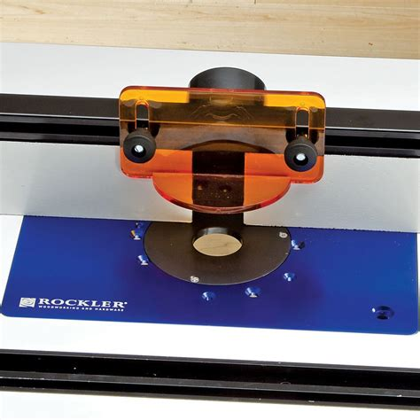 Rockler Router Fence