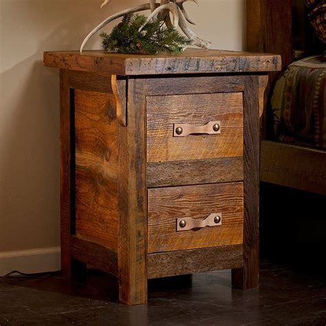 Rocky 2 Drawer Nightstand