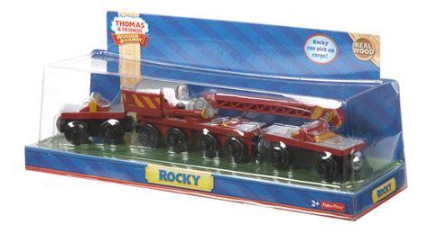 Rocky Wooden Train