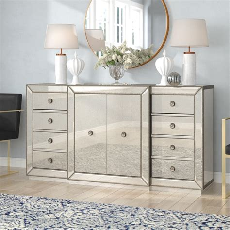 Rogerson Mirrored Sideboard