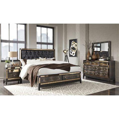 Rollison Upholstered Storage Panel Bed byMercer41