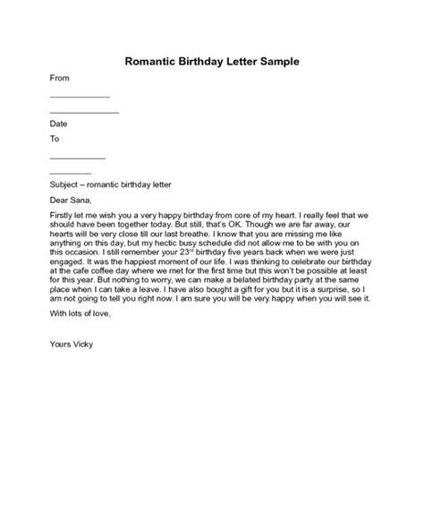 Birthday love letter resume words for housekeeper birthday love letter romantic birthday letter sample free sample letters spiritdancerdesigns Gallery