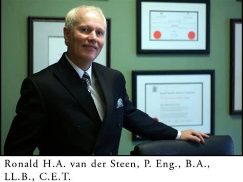 Commercial Lawyer Oakville Ronald Ha Van Der Steen Oakville Lawyer