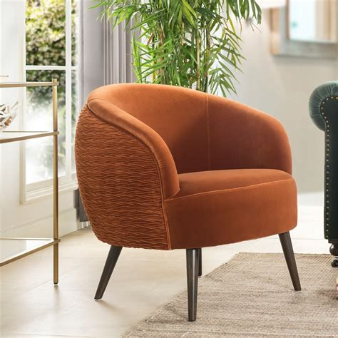 Ronda Contemporary Barrel Chair