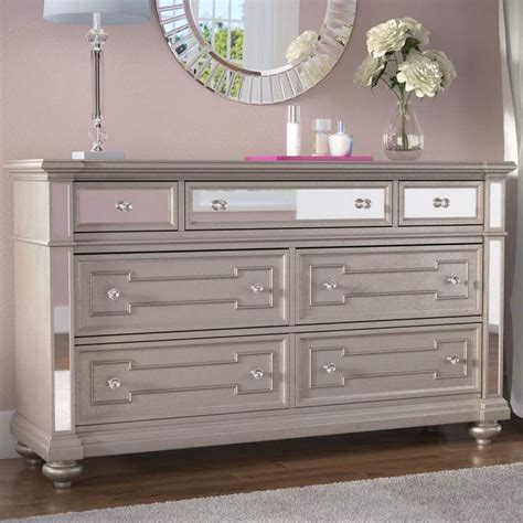 Ronna 7 Drawer Double Dresser with Mirror