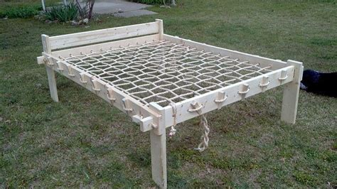 Rope Bed Plans