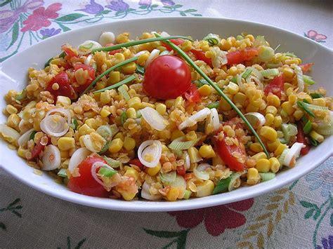 Rote Linsen Salat Rezept