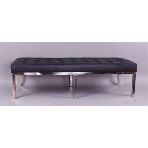 Rothman Leather Bench