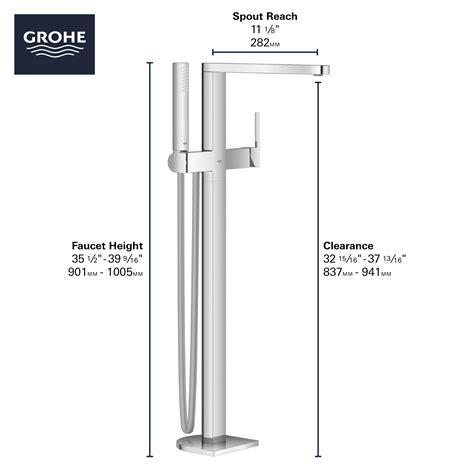 Rough-In Set for Floor Mounted Tub Filler